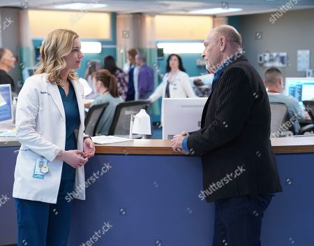 Emily VanCamp as Nicolette Nevin and Corbin Bernsen as Kyle Nevin