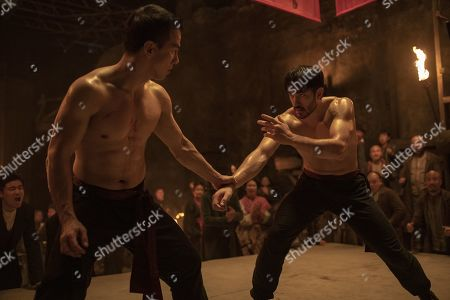 Joe Taslim as Li Yong and Andrew Koji as Ah Sam