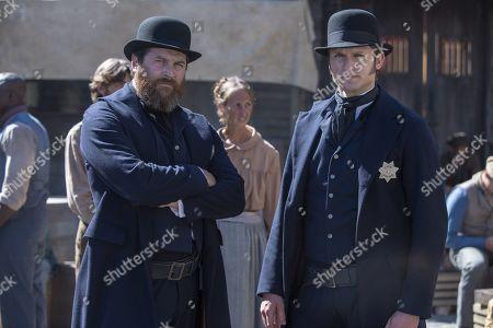 Kieran Bew as 'Big Bill' O'Hara and Tom Weston-Jones as Richard Lee