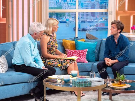 Phillip Schofield, Holly Willoughby, Jack Farthing