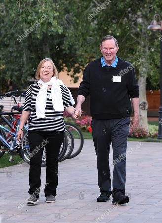 Amanda Bennett and Donald Graham