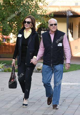 Stock Photo of Marie-Josee Kravis and Henry Kravis