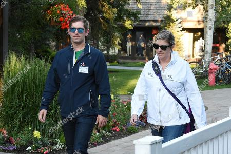 Stock Photo of Dan Widmaier and Aimee Aikin