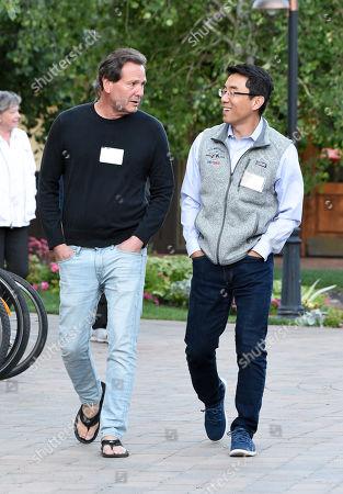 Dan Schulman and David Eun