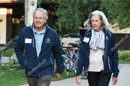 Editorial image of Allen & Company Conference, Day 4, Sun Valley, USA - 12 Jul 2019