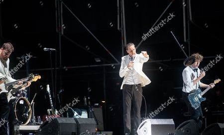 Stock Image of The Hives - The Johan and Only, Howlin' Pelle, and Niklas Almqvist