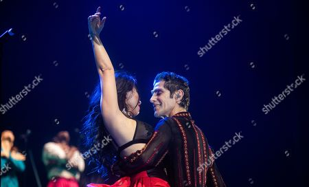 Stock Picture of Perry Farrell's Kind Heaven Orchestra - Etty Lau Farrell and Perry Farrell