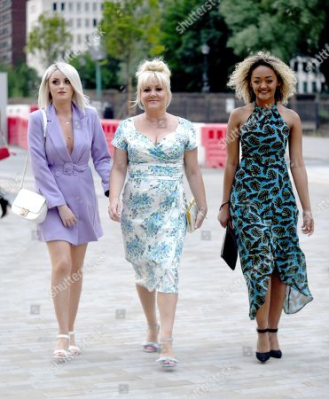 Katie McGlynn, Lisa George and Alexandra Mardell