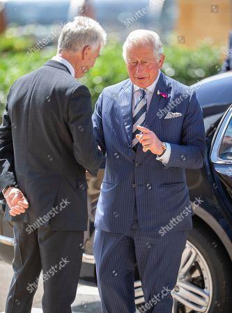 Prince Charles visits the GCHQ, Cheltenham
