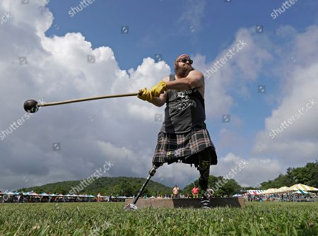 Editorial image of Highland Games, Linville, USA - 12 Jul 2019