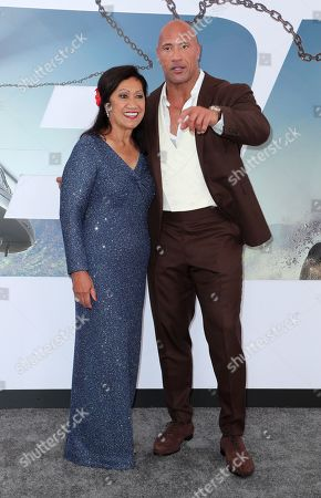 Editorial image of 'Fast & Furious Presents: Hobbs & Shaw' Film Premiere, Arrivals, Dolby Theatre, Los Angeles, USA - 13 Jul 2019