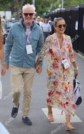 Chris Evans and Natasha Evans