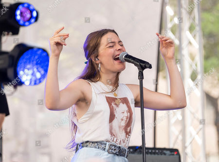 Editorial image of Maggie Rogers Performs on NBC's Today Show, New York, USA - 12 Jul 2019