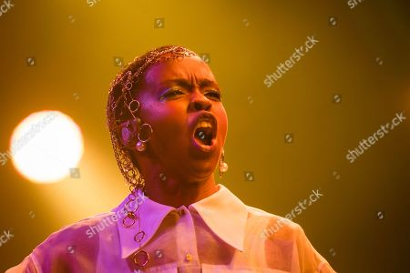 Stock Picture of U.S. singer Lauryn Hill performs on the stage of the Auditorium Stravinski during the 53rd Montreux Jazz Festival (MJF), in Montreux, Switzerland, . The MJF runs from June 28 to July 13