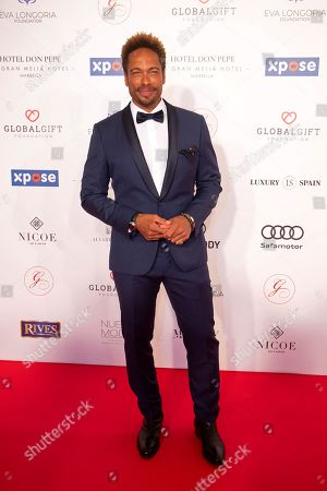 Actor Gary Dourdan poses upon his arrival to the VIII Global Gift gala in Marbella, Spain, 12 July 2019. The event is part of the Philanthropic Weekend activities organized by the Global Gift Foundation.