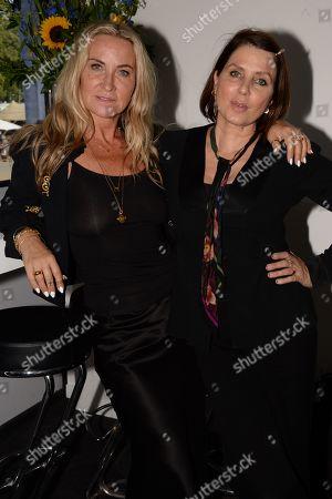 Stock Photo of Meg Mathews and Sadie Frost