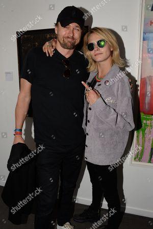 Joachim Ronning and Cara Delevingne