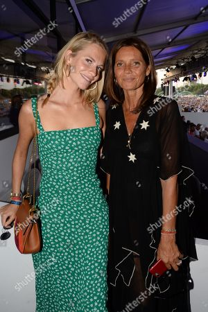 Poppy Delevingne and Countess Debonnaire von Bismarck