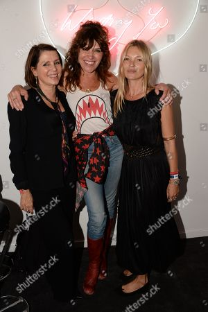 Sadie Frost, Jess Morris and Kate Moss