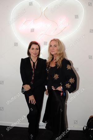 Sadie Frost and Meg Mathews