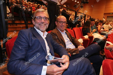 Editorial image of Civil Action Committees dedicated to combating fake news, Elfo Puccini theatre, Milan, Italy - 12 Jul 2019