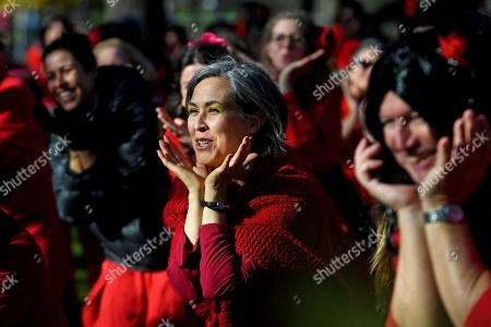 Editorial photo of The Most Wuthering Heights Day Ever flash mob, Melbourne, Australia - 13 Jul 2019