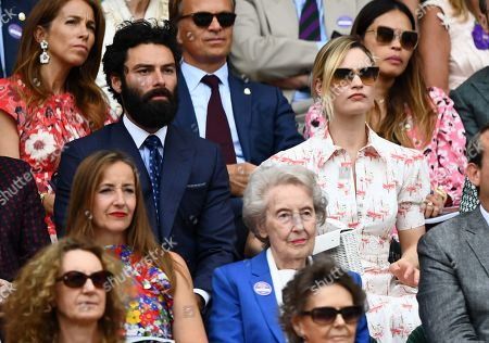 Editorial photo of Wimbledon Tennis Championships, Day 12, The All England Lawn Tennis and Croquet Club, London, UK - 13 Jul 2019