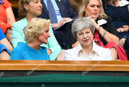 Editorial picture of Wimbledon Tennis Championships, Day 12, The All England Lawn Tennis and Croquet Club, London, UK - 13 Jul 2019
