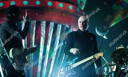 The Smashing Pumpkins - Jeff Schroeder and Billy Corgan