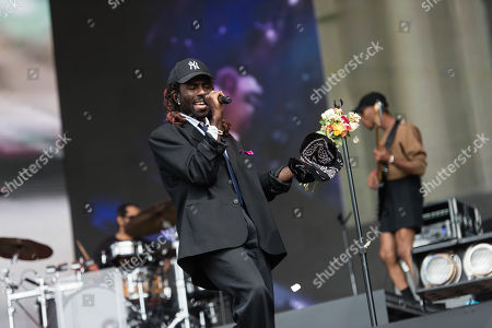 Editorial image of Blood Orange in concert at Barclaycard presents British Summer Time Hyde Park in London, UK - 13 Jul 2019