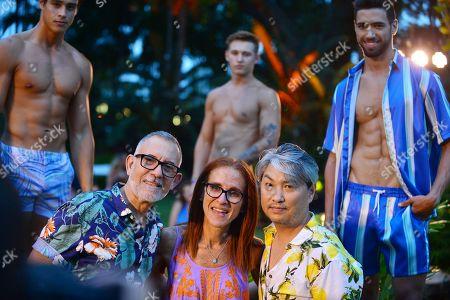 Editorial picture of Parke & Ronen swimwear presentation, Miami Beach, Florida - 12 Jul 2019