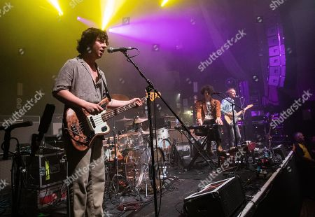 Stock Photo of Kapil Trivedi, Blaine Harrison and William Rees - Mystery Jets