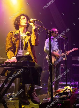 Stock Picture of Blaine Harrison and William Rees - Mystery Jets