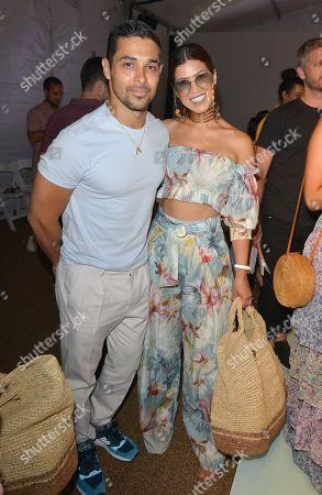 Wilmer Valderrama and Karla Martinez