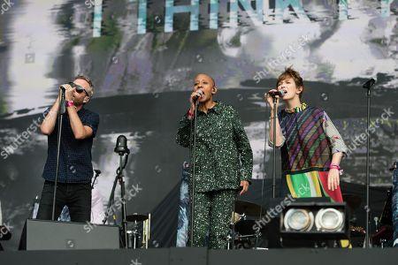 The National - Matt Berninger, Gail Ann Dorsey (David Bowie bass player), Lisa Hannigan