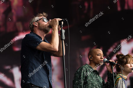 Editorial image of The National in concert at Barclaycard presents British Summer Time Hyde Park in London, UK - 13 Jul 2019