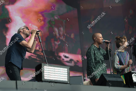 Editorial photo of The National in concert at Barclaycard presents British Summer Time Hyde Park in London, UK - 13 Jul 2019