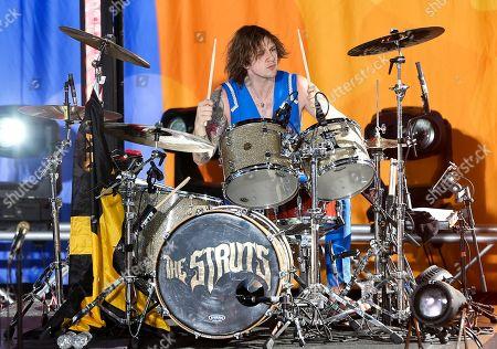 Gethin Davies of The Struts