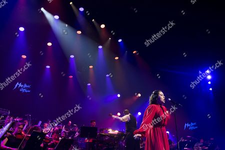 Lauren Jauregui performs at the 'Quincy Jones soundtrack of the 80's' celebration evening at the Auditorium Stravinski during the 53rd Montreux Jazz Festival, in Montreux, Switzerland, 13 July 2019. The event running from 28 June to 13 July will feature about 450 concerts.