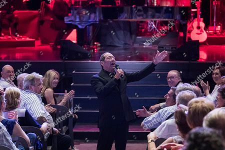 Paul Anka performs during the Festival of Peralada, Spain, on 13 July 2019.