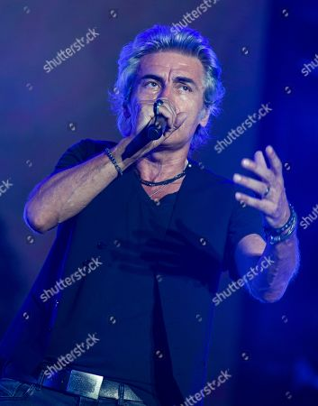 Editorial image of Luciano Ligabue in concert at the Olympic Stadium, Rome, Italy - 12 Jul 2019