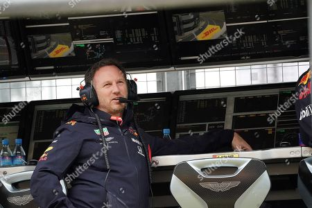 13.07.2019, Silverstone Circuit, Silverstone, FORMULA 1 ROLEX BRITISH GRAND PRIX 2019  ,  Christian Horner (Red Bull Racing)