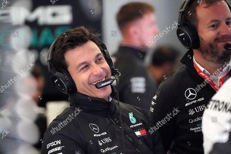 13.07.2019, Silverstone Circuit, Silverstone, FORMULA 1 ROLEX BRITISH GRAND PRIX 2019  ,  Toto Wolff (Mercedes)