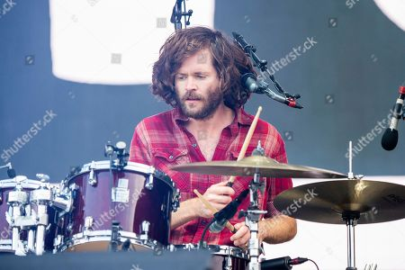 Stock Picture of Jesse Kongos of the Kongos performs during the Festival d'ete de Quebec, in Quebec City, Canada