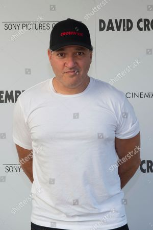 "Gregg Bello attends a special screening of ""David Crosby: Remember My Name"", hosted by Sony Pictures Classics with The Cinema Society, at the Regal UA East Hampton Cinema on in East Hampton, NY"