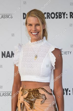 """Beth Ostrosky Stern attends a special screening of """"David Crosby: Remember My Name"""", hosted by Sony Pictures Classics with The Cinema Society, at the Regal UA East Hampton Cinema on in East Hampton, NY"""