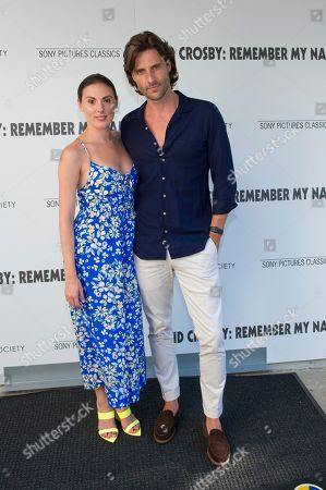 """Tiler Peck, left, attends a special screening of """"David Crosby: Remember My Name"""", hosted by Sony Pictures Classics with The Cinema Society, at the Regal UA East Hampton Cinema on in East Hampton, NY"""