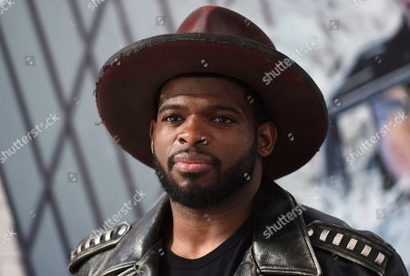 "Stock Photo of P. K. Subban arrives at the Los Angeles premiere of ""Fast & Furious Presents: Hobbs & Shaw"", at the Dolby Theatre"