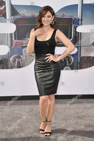 "Editorial image of LA Premiere of ""Fast & Furious Presents: Hobbs & Shaw"", Los Angeles, USA - 13 Jul 2019"