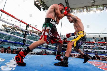Editorial photo of Ronny Rios vs. Diego de la Hoya, Carson, USA - 13 Jul 2019